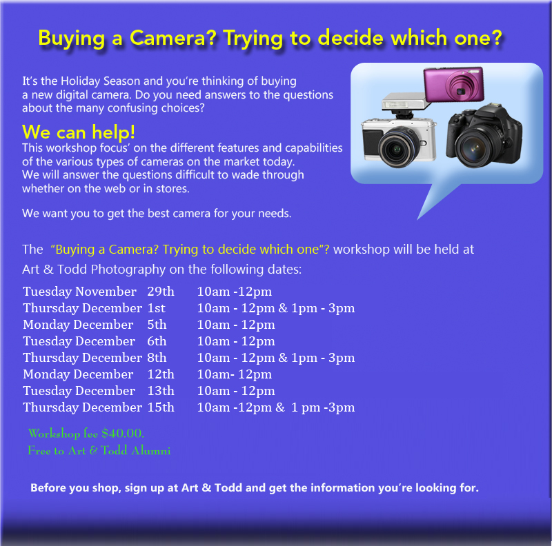What you need to know when buying a digital camera